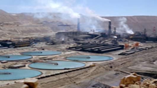 Chiquicamata Coppermine, Atacama Desert, Chile