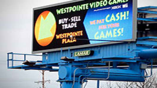 Digital billboard seen in Central Ohio.