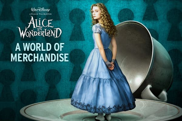 "When Alice in Wonderland opens in theaters, it will be accompanied by Disney's most wide-ranging array of consumer products ever, chasing an unprecedented broad audience.Disney has a whole new range of consumers in its cross-hairs, and for this potential blockbuster, they are breaking into the world of fashion with the ""Alice"" look.What are some of the newest Alice-inspired products coordinated with the film's release? Click ahead to find out!"