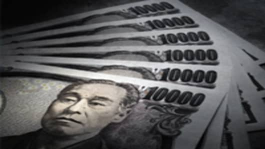 Japanese 10,000 Yen bank notes