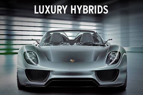 Affordable vehicles from the likes of Toyota and Ford have been ruling the hybrid market. But at this year's Geneva International Auto Show, a number of luxury brands such as Ferrari and Porsche have unveiled concept and experimental hybrids. Take a look at what the future luxury hybrid might look like.
