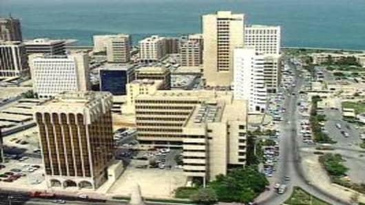Bahrain skyline
