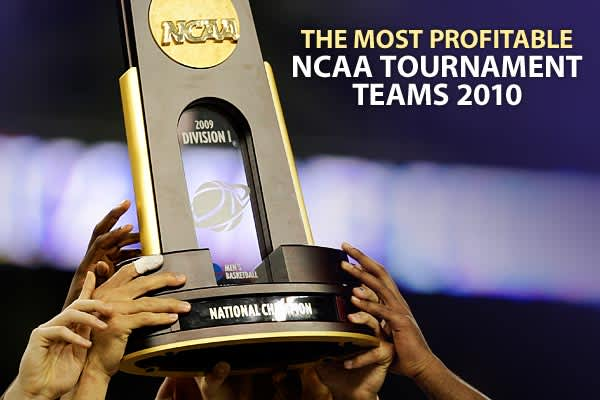 By Posted 14 March 2010Which 2010 NCAA men's basketball tournament team pulls in the most money? Each year, schools are required to file their profits with the US government as part of their Equity in Athletics requirement, presented here are the most recent information available, from the 2008-09 season. The numbers are based on the school's own reporting and each school classifies its costs and profits differently. Duke, for example, reported a $2 million loss for its basketball program last y