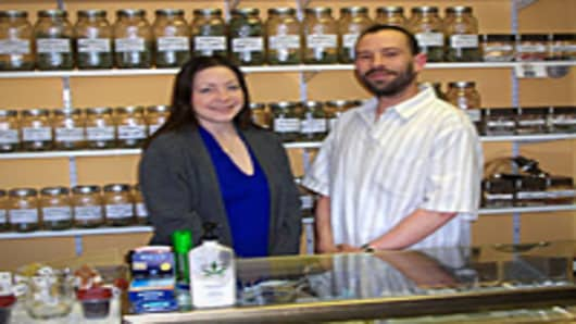Linda Lensing and David Nugent of Herban Wellness