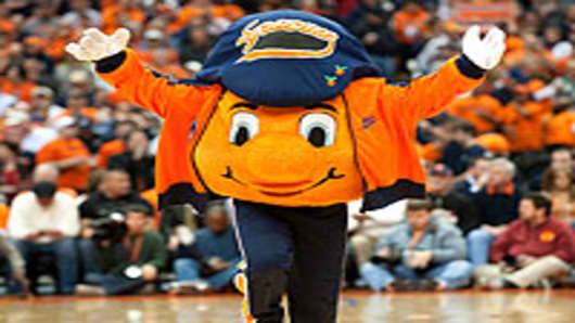 Syracuse Orangemen Mascot