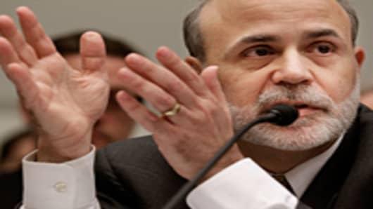 Federal Reserve Bank Chairman Ben Bernanke
