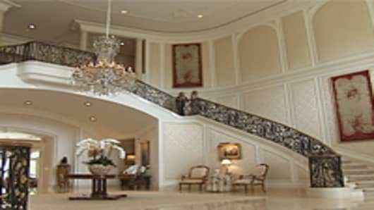 An inside image of the home of Candy Spelling