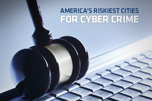 Is your city more likely than others to fall prey to cyber crime? Symantec Corporation, one of the world's largest makers of antivirus software and the independent research firm Sperling's BestPlaces, collaborated on a report that ranks the top 50 cities most at risk for cyber crime.The rankings are based on anumber of factors, including cyber crimes reported, level of Internet access, expenditures on computer hardware and software, wireless hotspots, broadband connectivity, Internet usage and