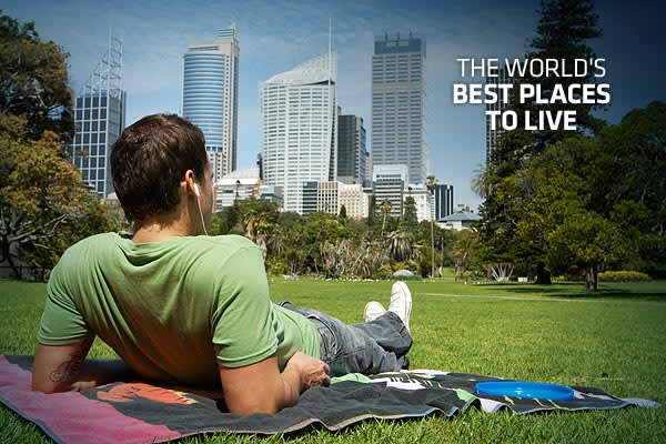 the world 39 s best places to live 2010