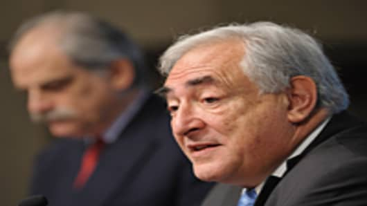 IMF Managing Director Dominique Strauss-Kahn