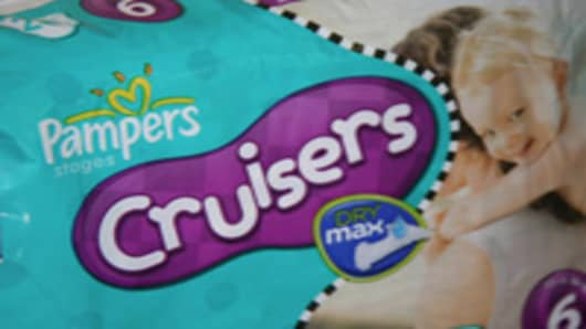 Pampers Cruisers diapers with Dry Max