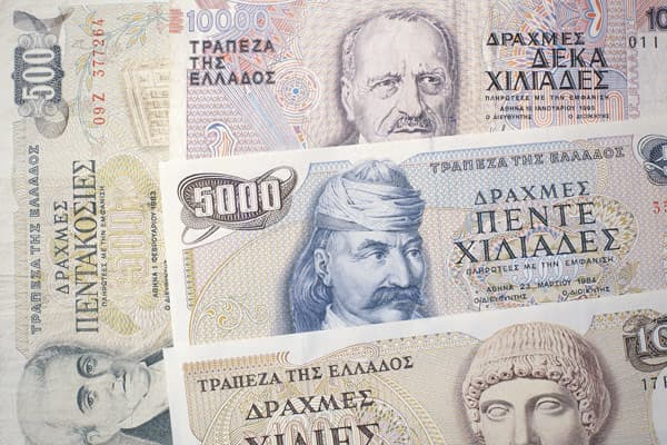 37195234 Ss Pre Euro Currencies Greek Drachma Jpg