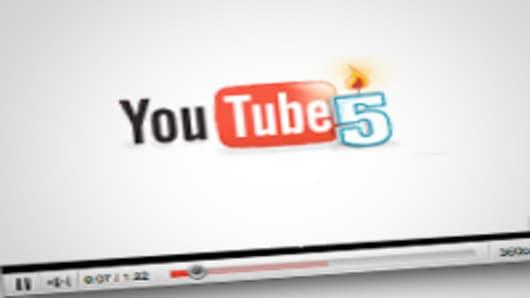 Youtube celebrates 5 years.