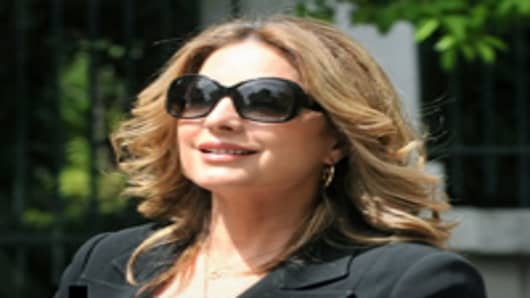 Greek deputy Tourism minister, Angela Gerekou