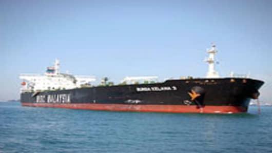 The MT Bunga Kelana 3 Oil tanker.