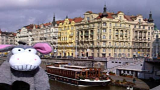 Toytraveling will send your stuffed animal on vacation in Prague.