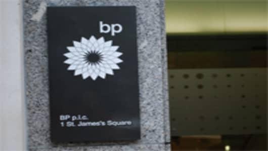 BP headquarters in London.