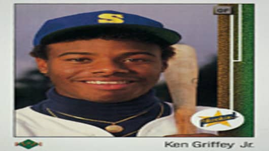 Ken Griffey Jr.'s 1989 Upper Deck trading card