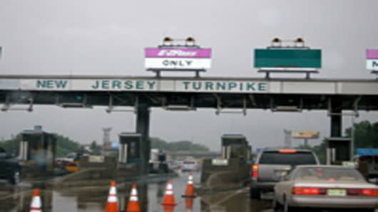 NJ Turnpike Toll