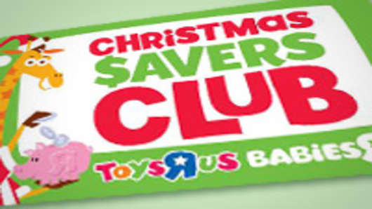 "Toys""R""Us Christmas Savings Card"