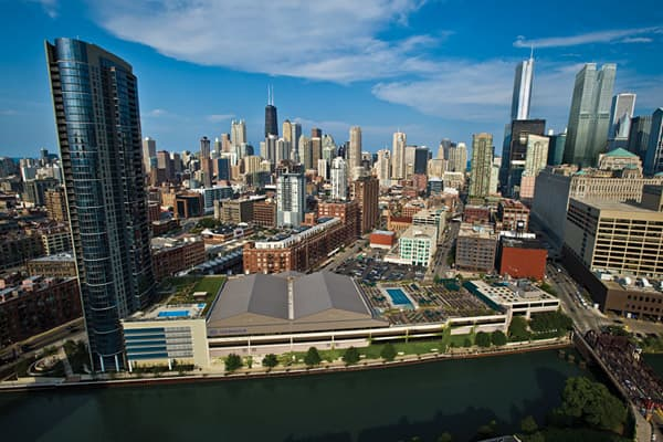 Chicago, Ill.Membership cost: $500 initiation / $170 monthly Noteworthy features: Four swimming pools (two on roof), 60,000 square-foot sundeck, eight tennis courts, indoor driving range.
