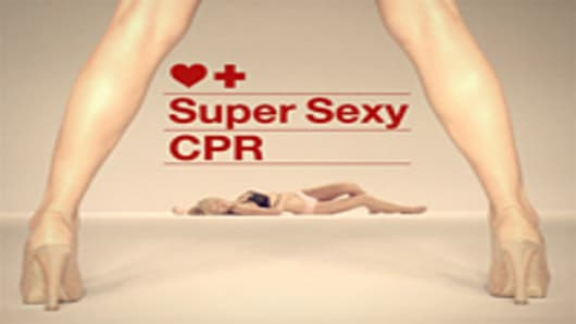 "Fortnight Lingerie's ""Super Sexy CPR"""