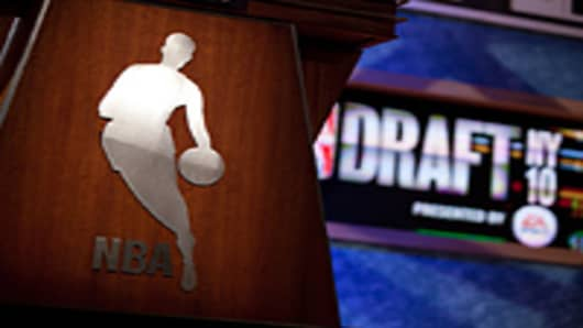 2010 NBA Draft at Madison Square Garden Theater in New York City
