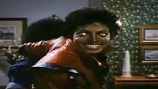 """Michael Jackson in """"Thriller"""""""