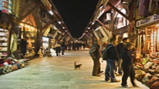 Istanbul's Arasta Bazaar