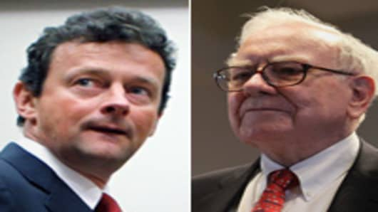 Tony Hayward and Warren Buffett