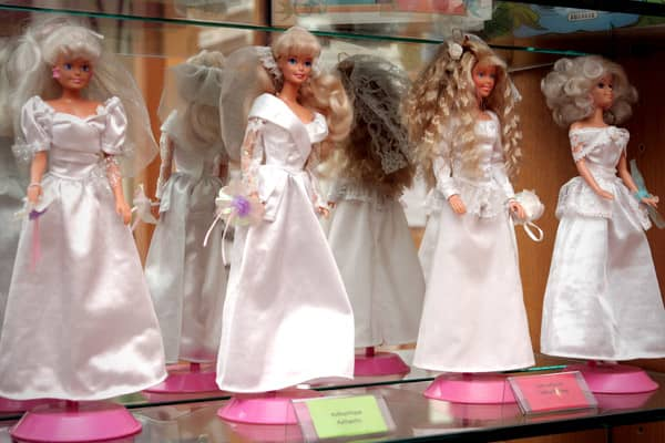 2009 Domestic Seizure Value: $5.50 millionPercent of Total Seizures: 2%Genuine and counterfeit Barbie dolls displayed at the Counterfeit Museum in Paris, France. The museum highlights the impact fake items have on producers of authentic products, as well as consumers and the wider economy.