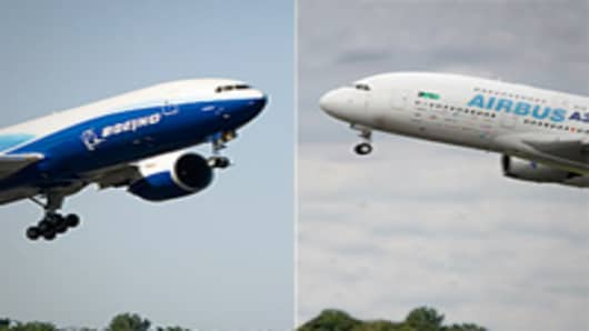 Boeing and Airbus