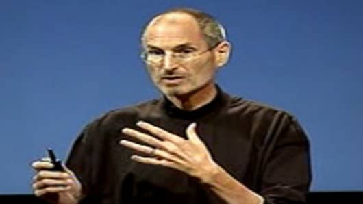 Steve Jobs speaking at iPhone 4 News Conference, July 16, 2010.
