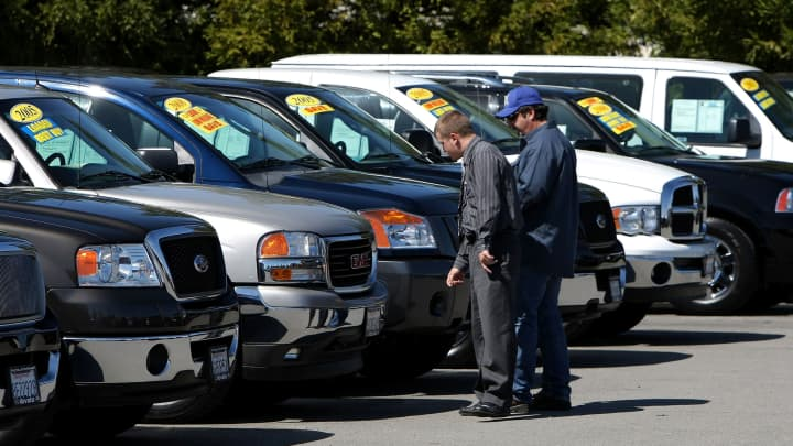 Used Car Prices Starting To Fall