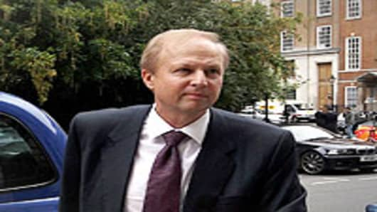 Bob Dudley, the Executive Director of BP, arrives at their headquarters in St James's Square on July 26, 2010 in London, England.