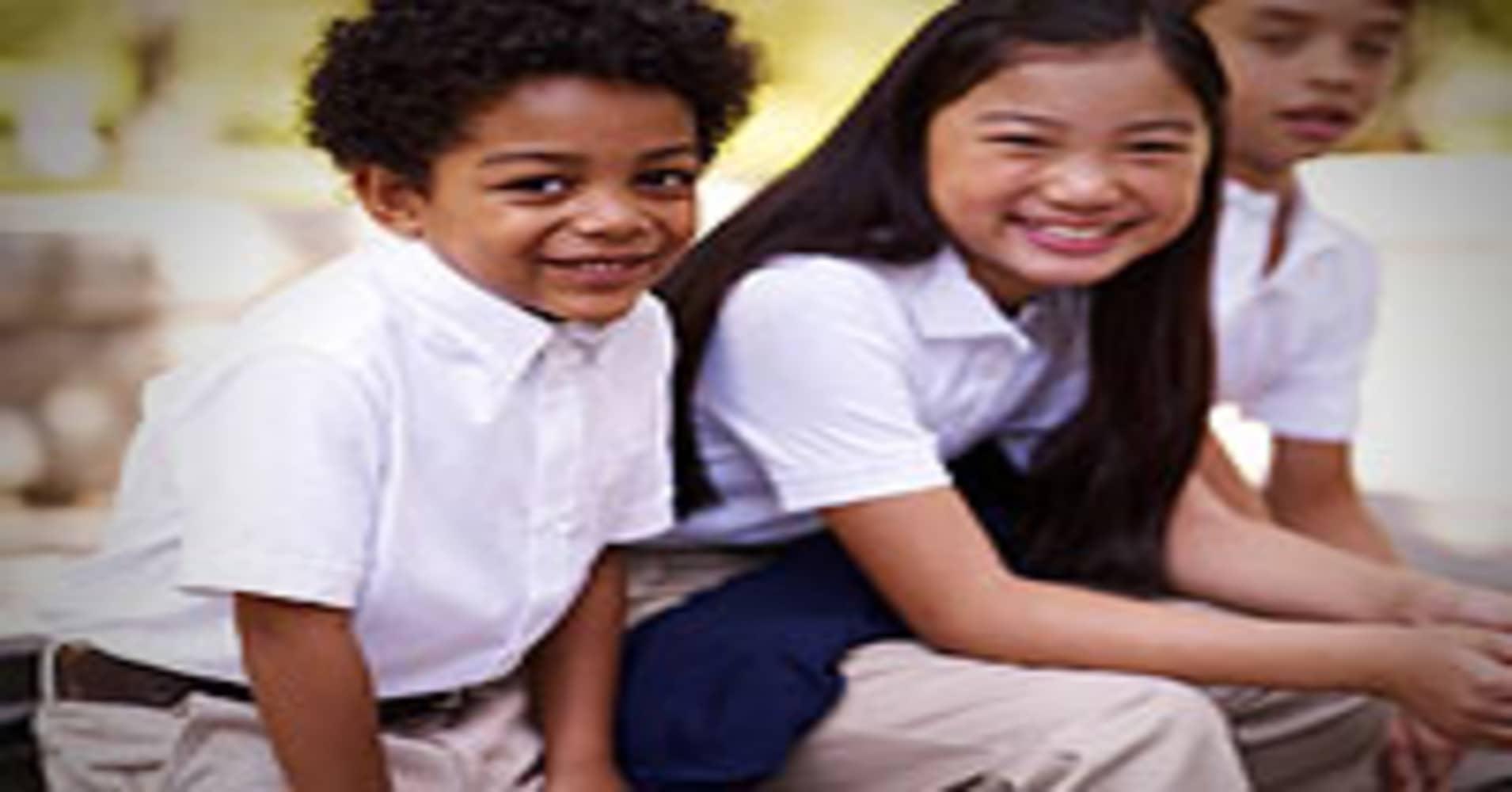 Uniforms Making the Grade at More Schools