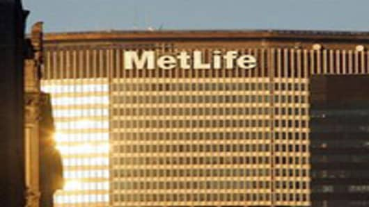 The MetLife building in New York City.