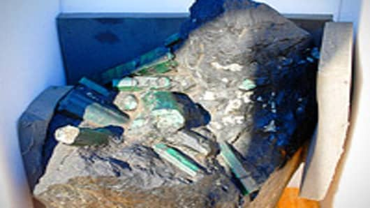 "The 850-pound ""Bahia Emerald"""