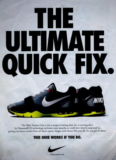 Nike Fights Back Against Toning Shoes