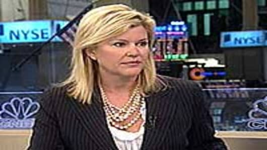 Meredith Whitney on Closing Bell