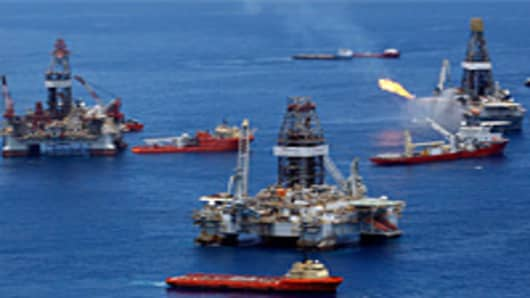 Transocean oil rig