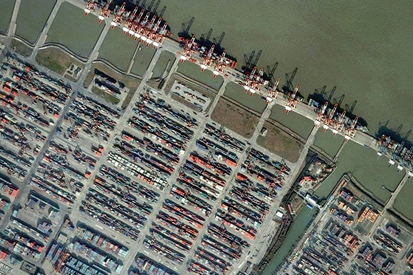 Since 2005, the Port of Shanghai has been the world's busiest port by cargo tonnage. Increased activity in this port, by the number of shipping containers or the amount of shipping activity can give analysts unique insight into the health of the regional and global economy.