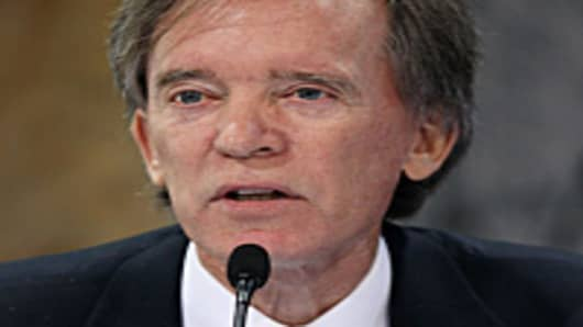 Bill Gross of PIMCO participates in a conference on the future of housing finance at the Treasury Department in Washington, DC.