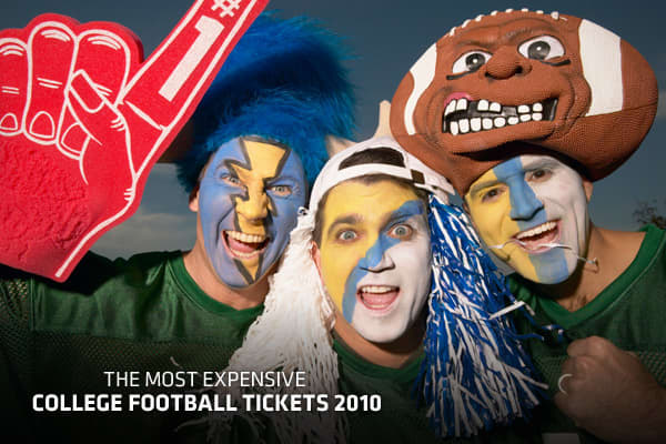 With the college football season upon us, it's time to look at the most coveted games. Rivalries and powerhouse match-ups dominate the most sought-after tickets, but which games will cost you the most to attend? To answer this question, , an online ticket search engine, organized the ticket prices for games based on highest average asking price on the secondary market, culled from more than 60 ticketing web sites. Ticket values are as of 9/2/10 and are based on current asking prices from sellers
