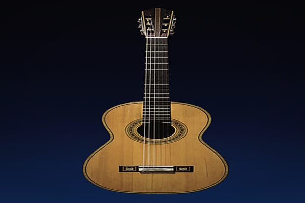 Price: $157,000 Antonio de Torres was a 19th-century Spanish guitar maker credited with creating the modern classical guitar. Most of today's acoustic guitars are based on his original designs. Torres had been building his instruments for 18 years before he started signing them in 1871, so an authentic creation from those earlier years is a sought-after rarity that is almost guaranteed to command a high price. This is why this guitar, which was built in 1864, sold in October 2007 for $157,000, t