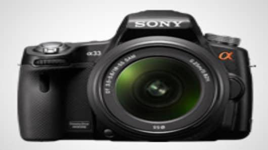 Sony Alpha a33 Camera