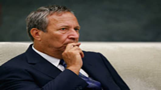 U.S. National Economic Council Chairman Larry Summers