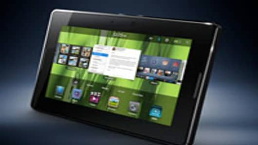 The Blackberry Playbook Tablet PC
