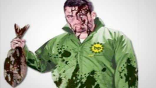 BP oil spill costume
