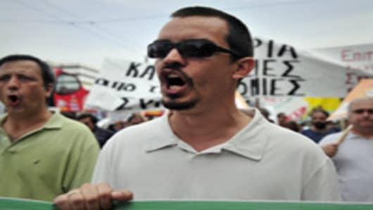 European Austerity Protest: Greece